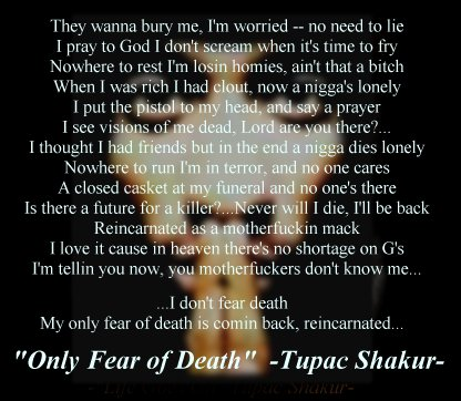 What is the meaning of the poem i cry by tupac?